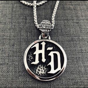 Limited! Just In HD .925 Silver Men's Necklace